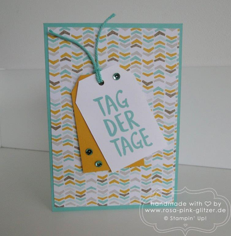 Stampin up Landshut - Tag der Tage Sale a bration 1