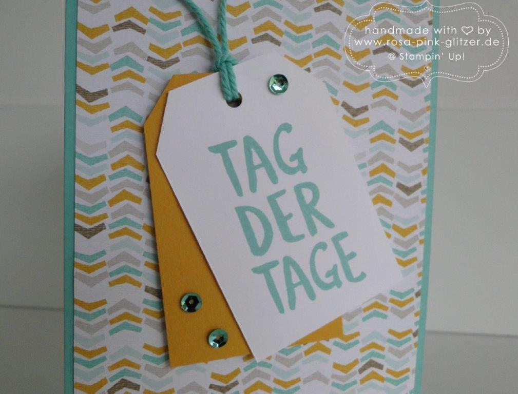 Stampin up Landshut - Tag der Tage Sale a bration 2