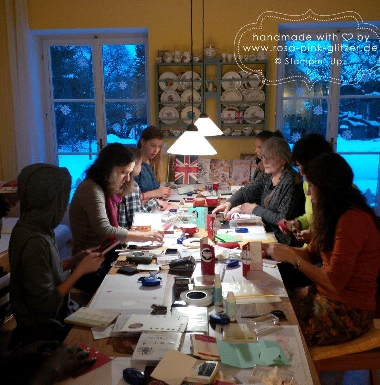 Stampin up Landshut - Workshop Januar 2015 3