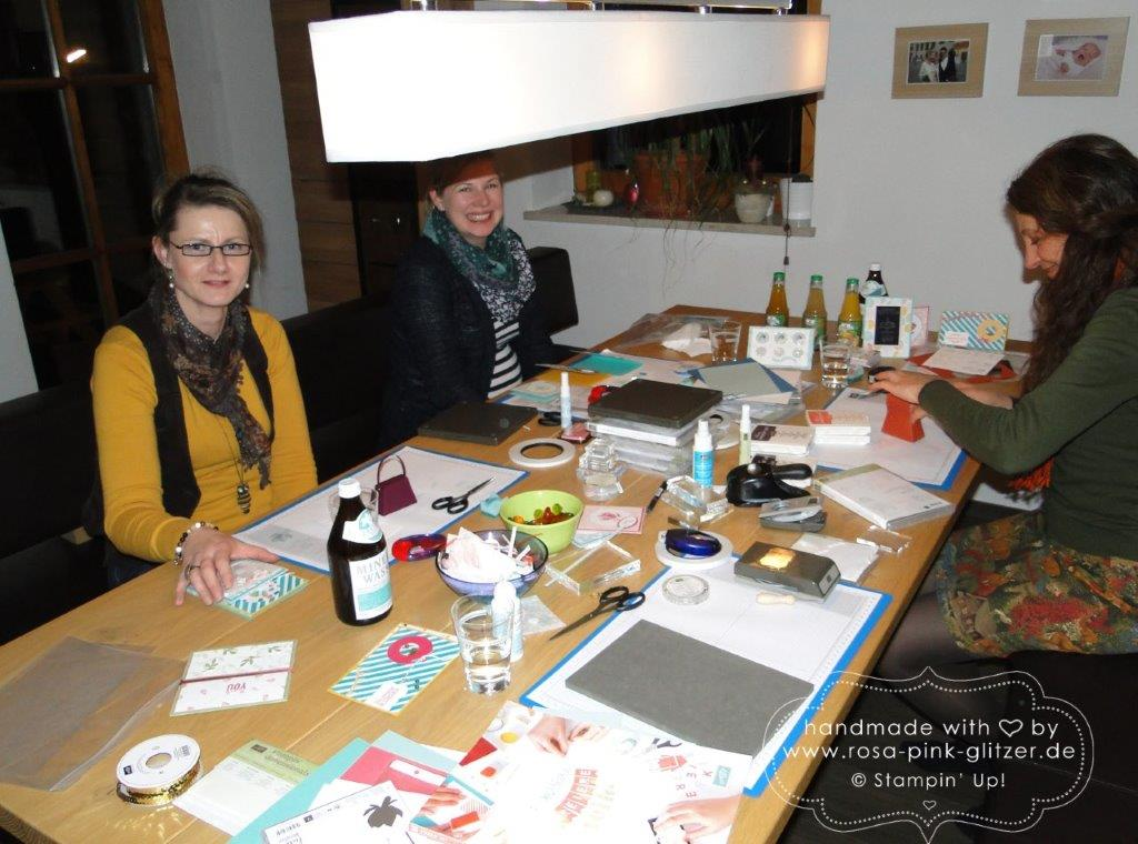 Stampin up Landshut - Workshop Januar Kirstin 6