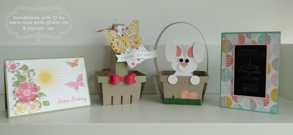 Stampin up Landshut - Workshop Ostern Frühling 2015 1