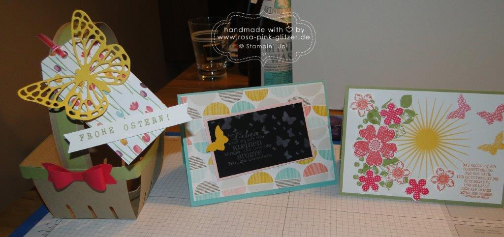 Stampin up Landshut - Workshop Ostern Frühling 2015 11