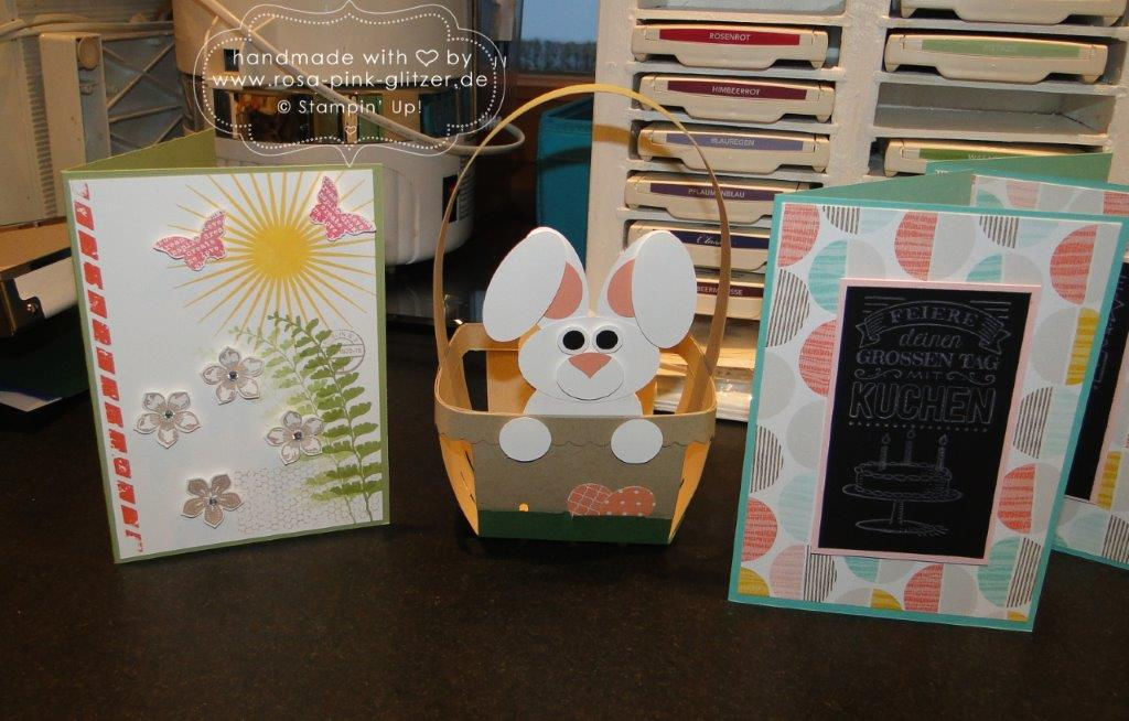 Stampin up Landshut - Workshop Ostern Frühling 2015 13