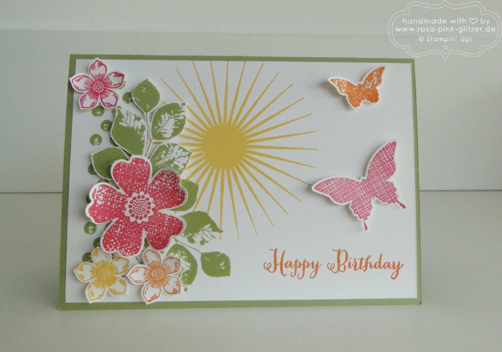 Stampin up Landshut - Workshop Ostern Frühling 2015 5