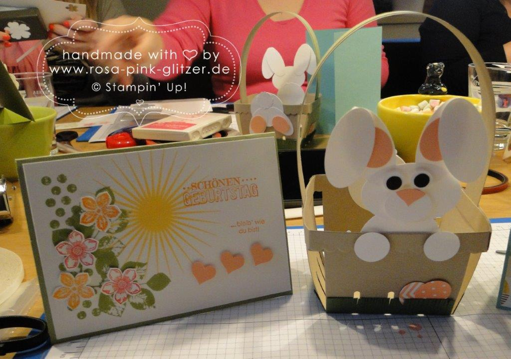 Stampin up Landshut - Workshop Ostern Frühling 2015 9