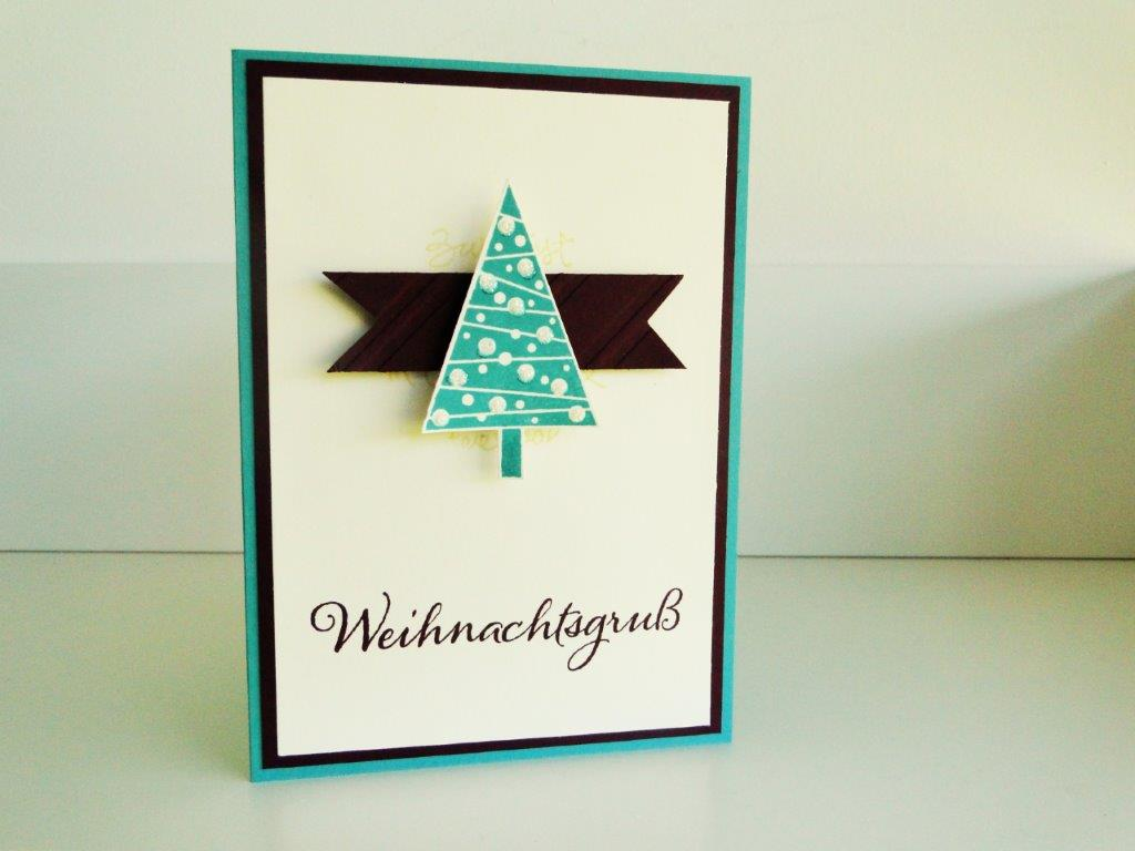 Stampin up - Christbaumfestival imc 1