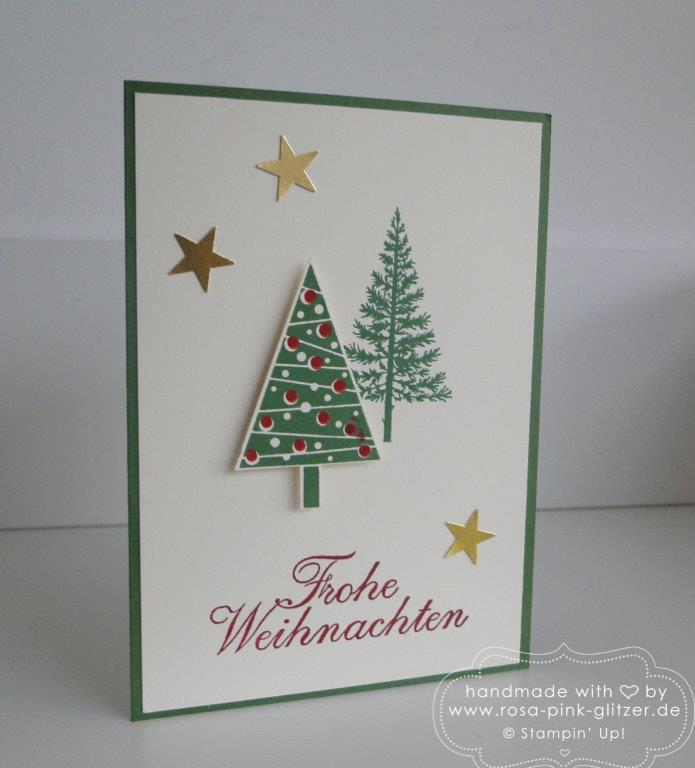 Stampin up Landshut - basteln Adventsbasar Kindergarten 2