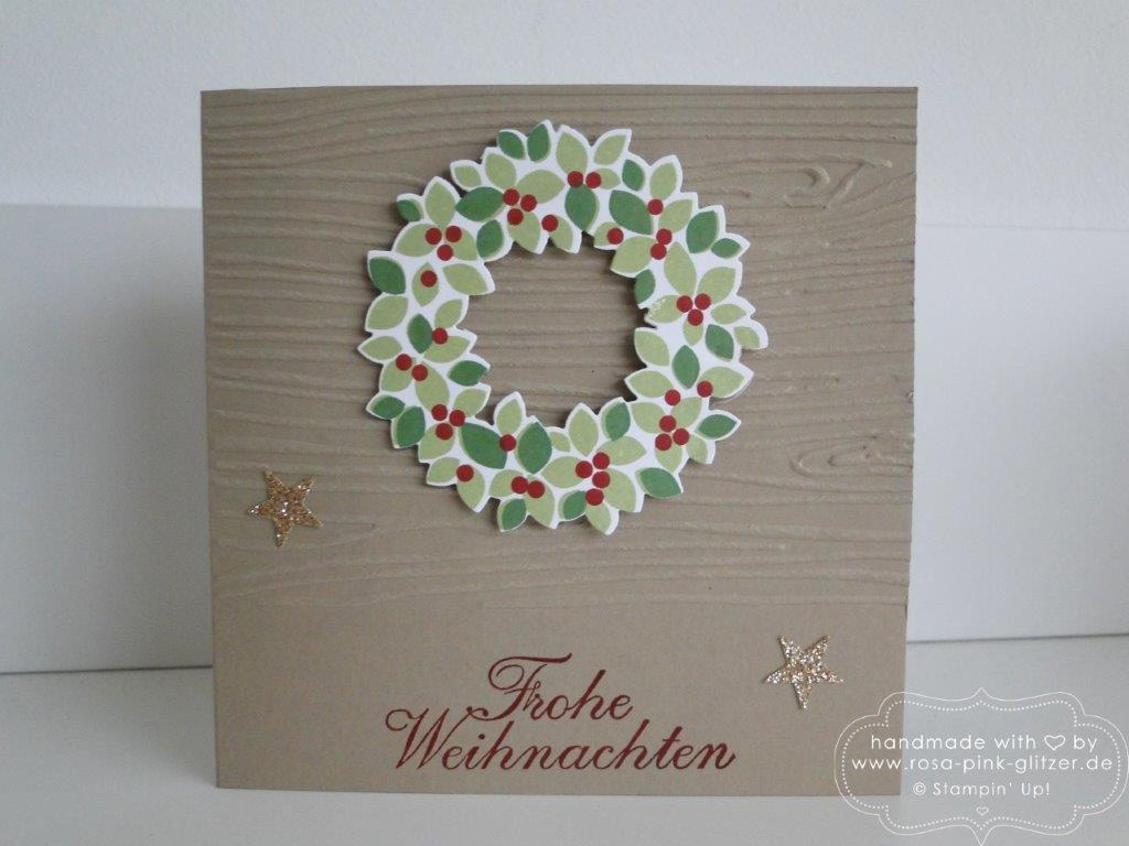 Stampin up Landshut - basteln Adventsbasar Kindergarten 6