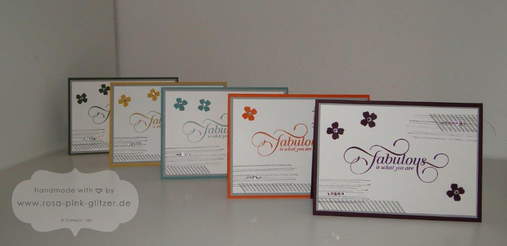 Stampin up Landshut - InColors Million and One Itty Bitty Akzente 1