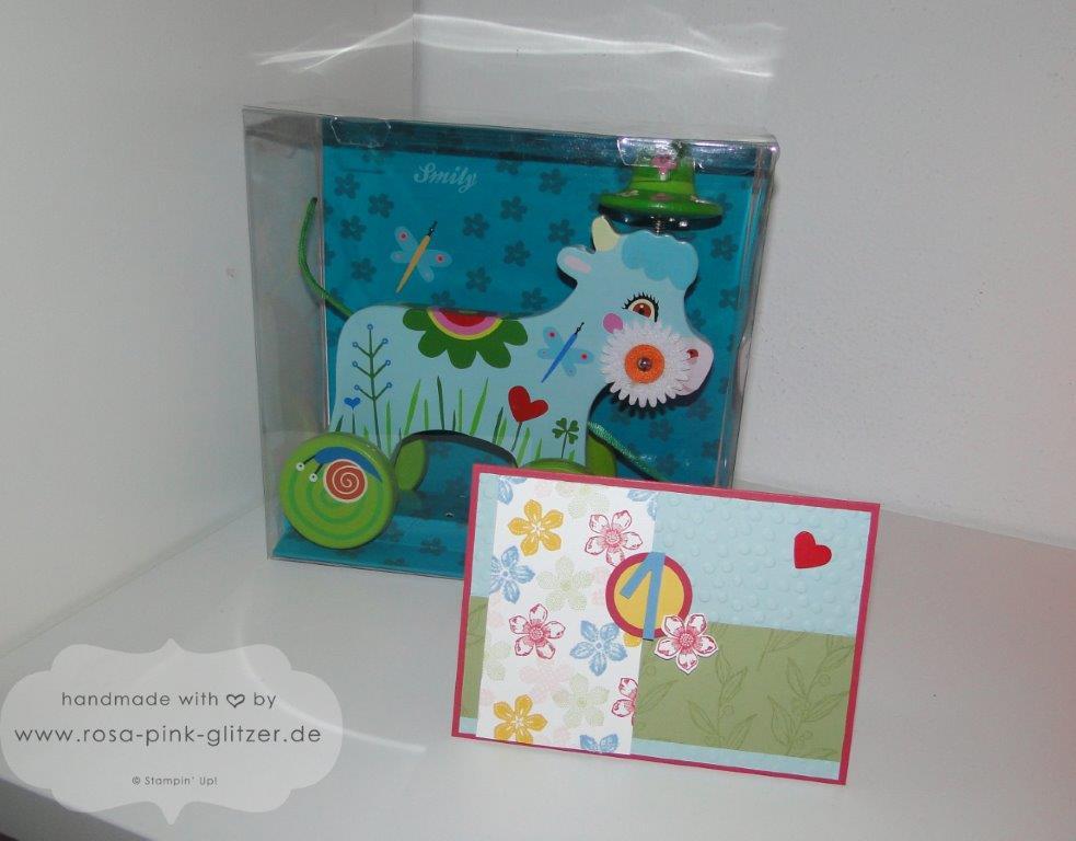 stampin up Landshut - Karte 1 Geburtstag Petite Petals 2