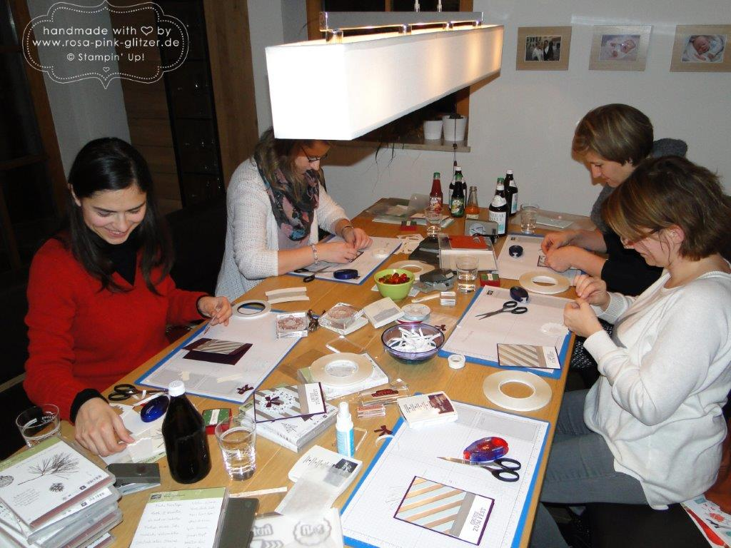Stampin up Landshut - Last Minute Weihnachtskarten-Workshop 1