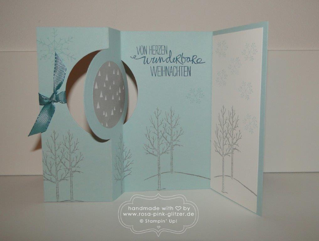 Stampin up Landshut - Last Minute Weihnachtskartenworkshop 11
