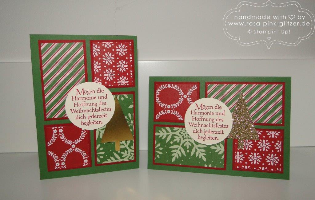 Stampin up Landshut - Last Minute Weihnachtskartenworkshop 3