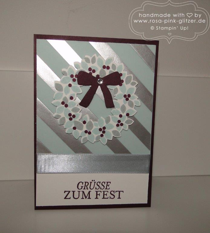 Stampin up Landshut - Last Minute Weihnachtskartenworkshop 4