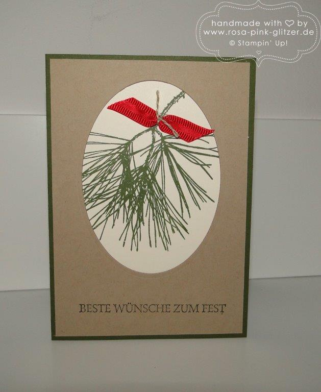 Stampin up Landshut - Last Minute Weihnachtskartenworkshop 5