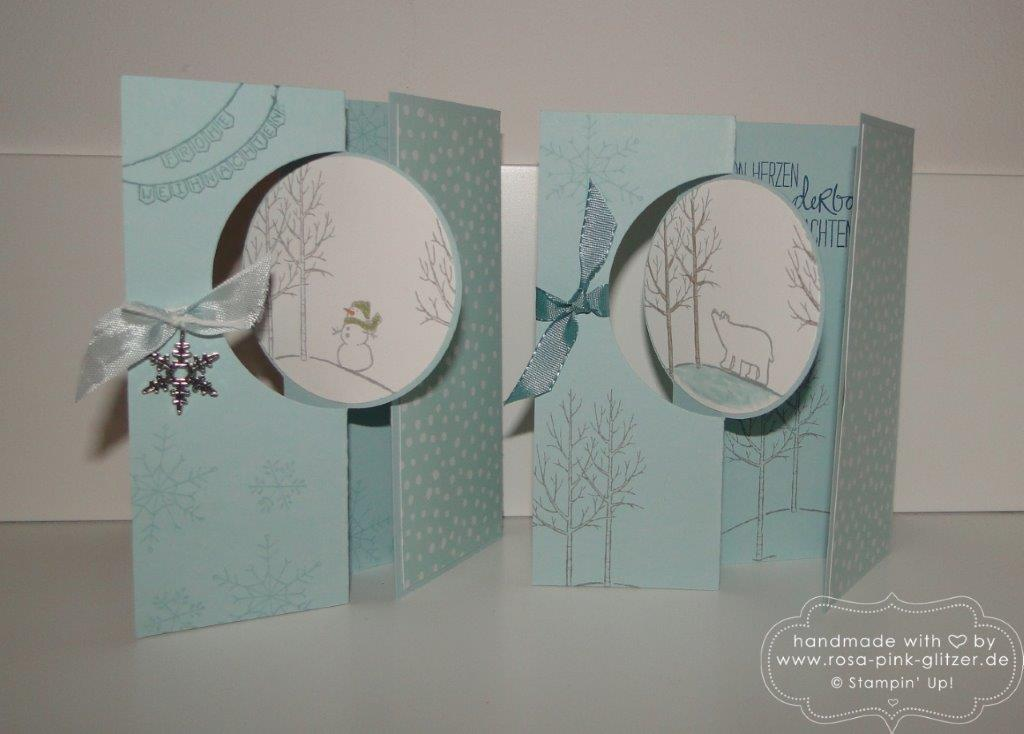 Stampin up Landshut - Last Minute Weihnachtskartenworkshop 7