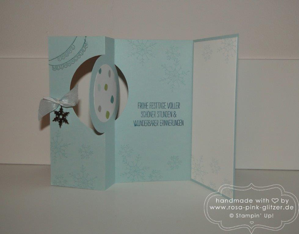 Stampin up Landshut - Last Minute Weihnachtskartenworkshop 8