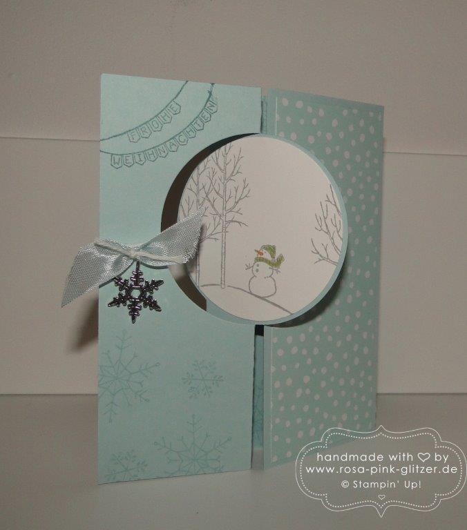 Stampin up Landshut - Last Minute Weihnachtskartenworkshop 9