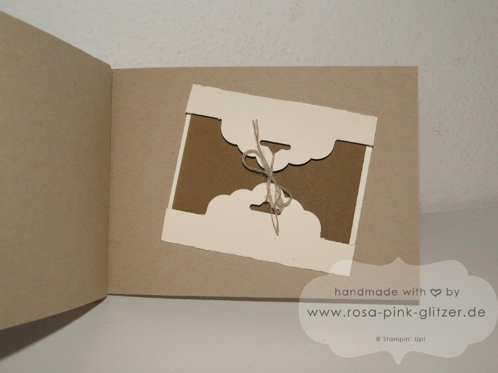 Stampin up Landshut - Mini-Album Inspiration Weeks Traveler 12
