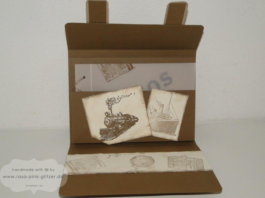 Stampin up Landshut - Mini-Album Inspiration Weeks Traveler 2