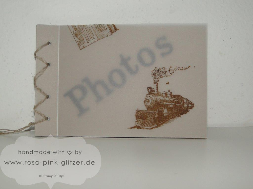 Stampin up Landshut - Mini-Album Inspiration Weeks Traveler 4