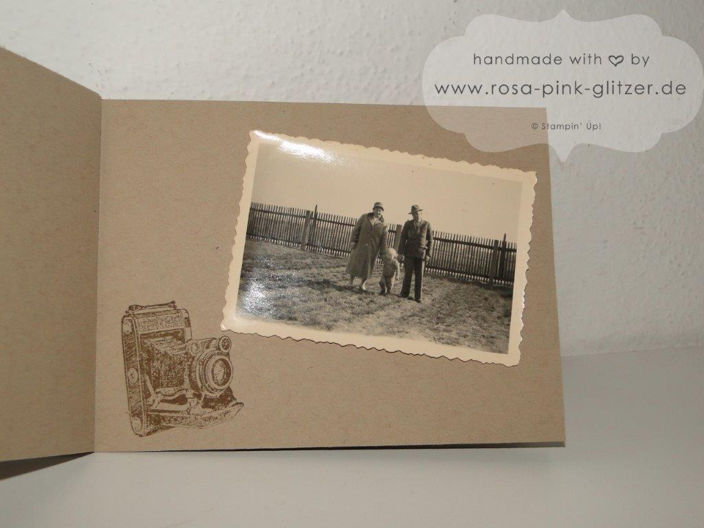 Stampin up Landshut - Mini-Album Inspiration Weeks Traveler 7