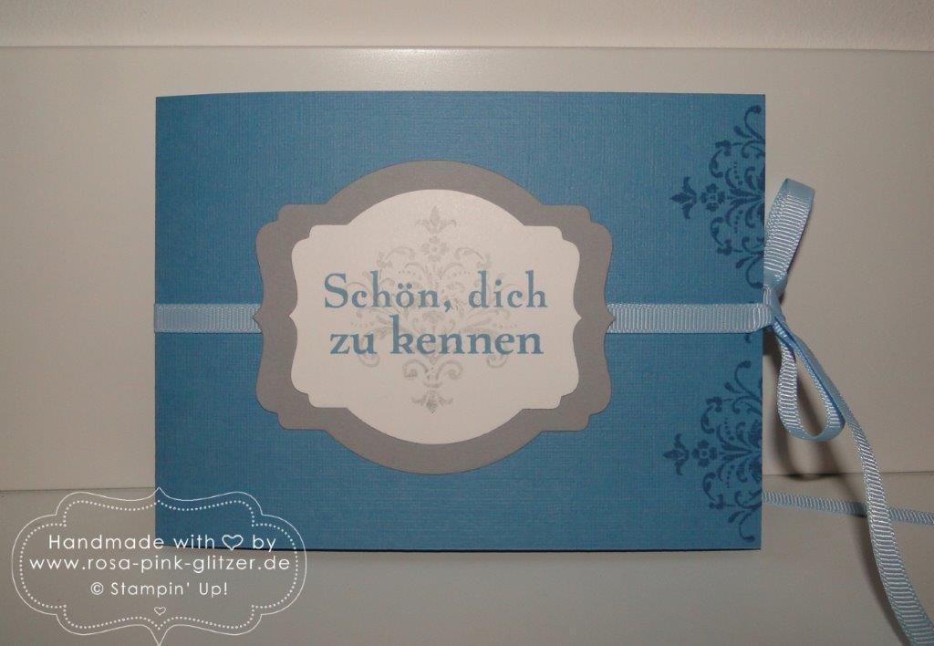 Stampin up Landshut - Minialbum Abschied Daniel 1