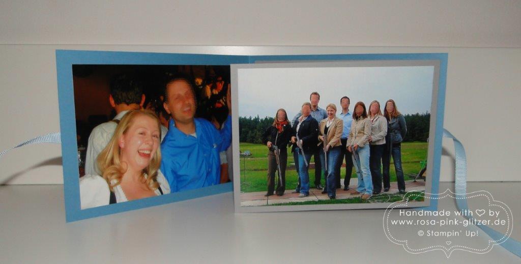 Stampin up Landshut - Minialbum Abschied Daniel 2