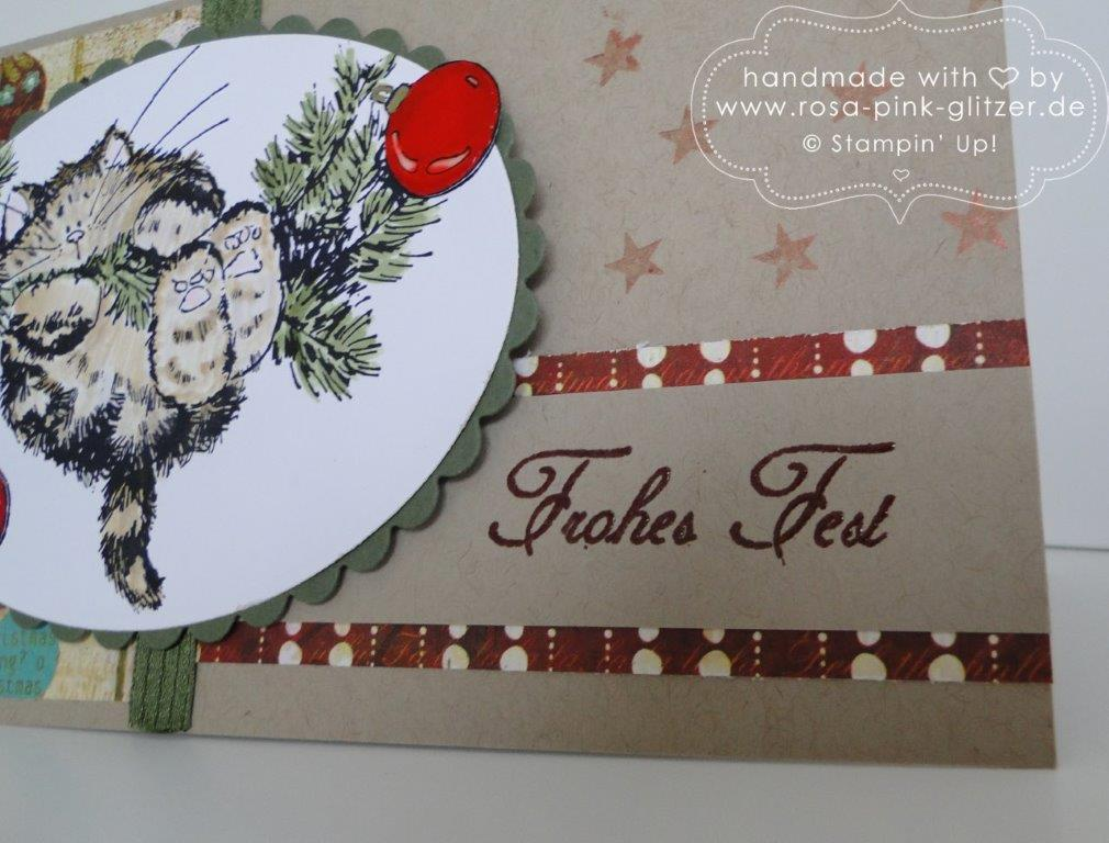Stampin up Landshut - Penny Black Weihnachtskarte merry monday 3