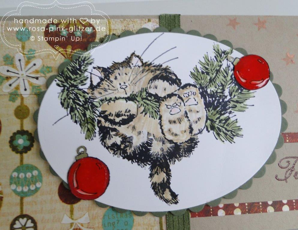 Stampin up Landshut - Penny Black Weihnachtskarte merry monday 4
