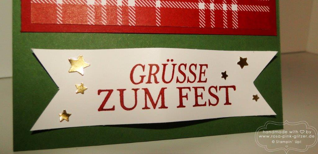 Stampin up Landshut - Traditionelle Weihnachten 4