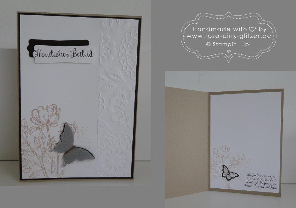 stampin up landshut - trauerkarte melanie köhler