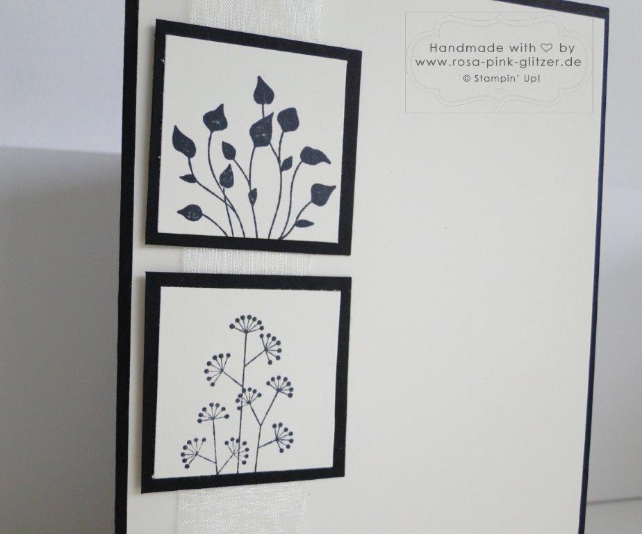 Stampin up Landshut - Trauerkarte Mit tiefstem Mitgefühl 2