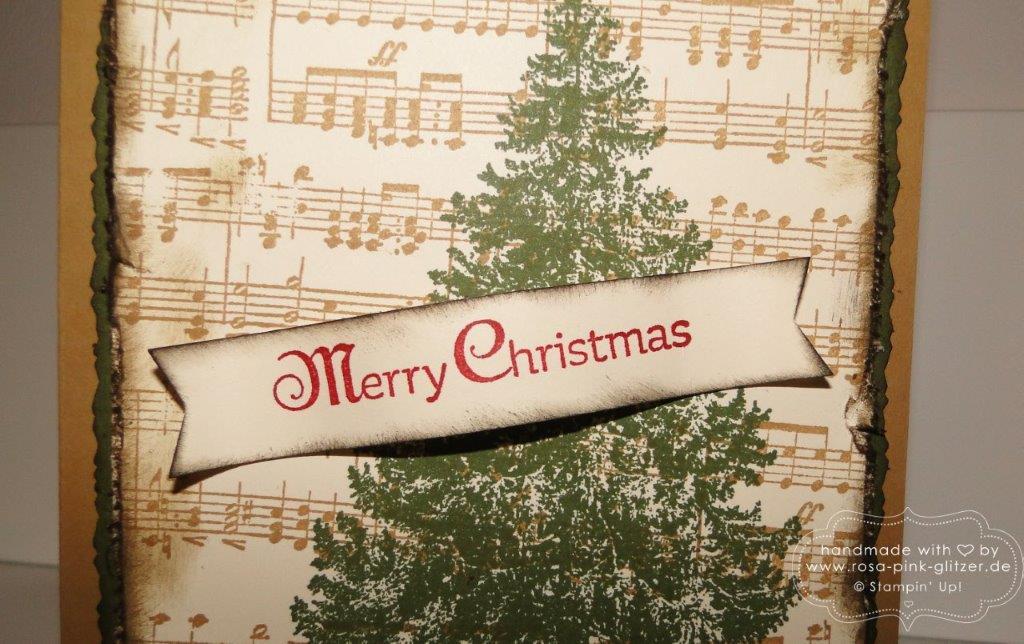 stampin up landshut - weihnachtskarte musik 2