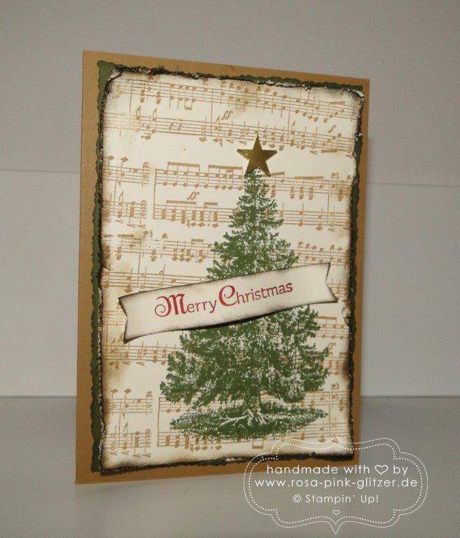 stampin up landshut - weihnachtskarte musik 3