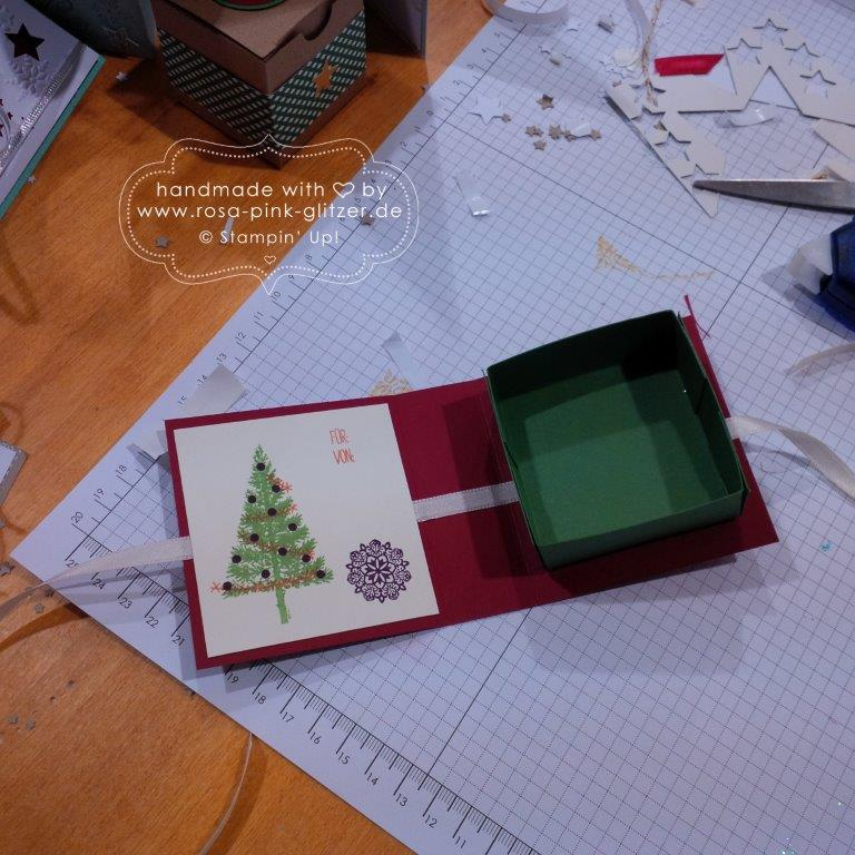 Stampin up Landshut - Weihnachtsworkshop Fräulein Moni 14