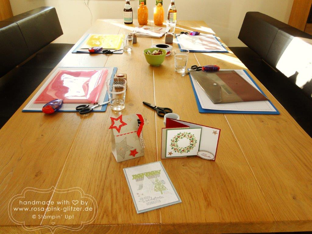 Stampin up landshut - Weihnachtsworkshop November 2014 1