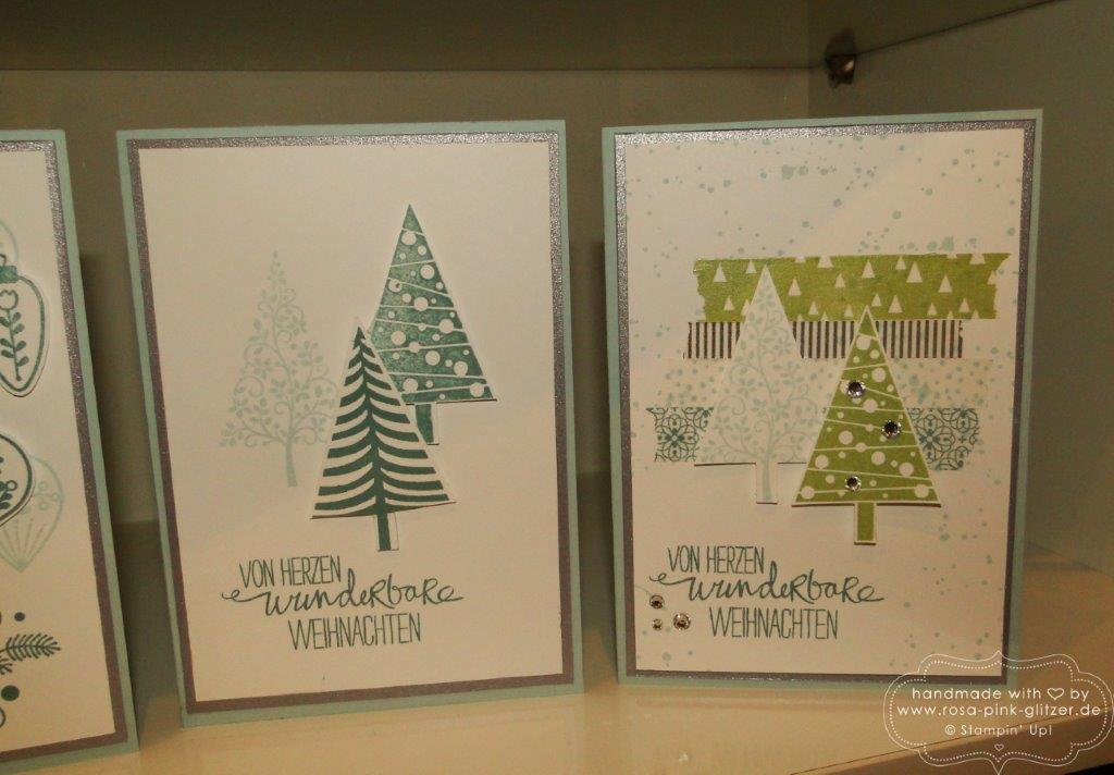 Stampin up Landshut - Weihnachtsworkshop November 2014 10