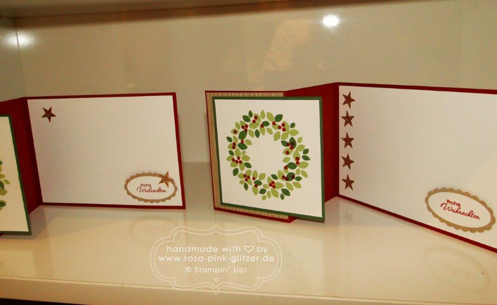 Stampin up Landshut - Weihnachtsworkshop November 2014 4