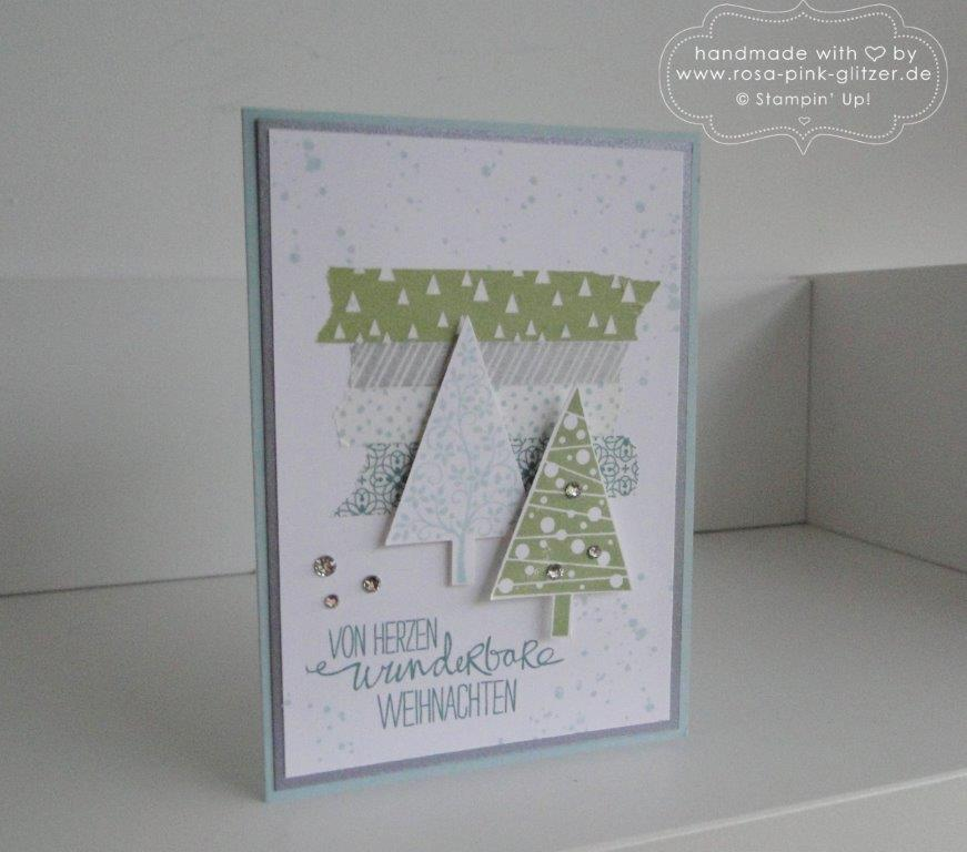 Stampin up Landshut - Weihnachtsworkshop November 2014 5