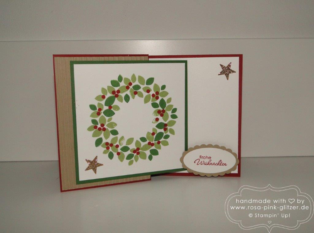 Stampin up Landshut - Weihnachtsworkshop November 2014 6