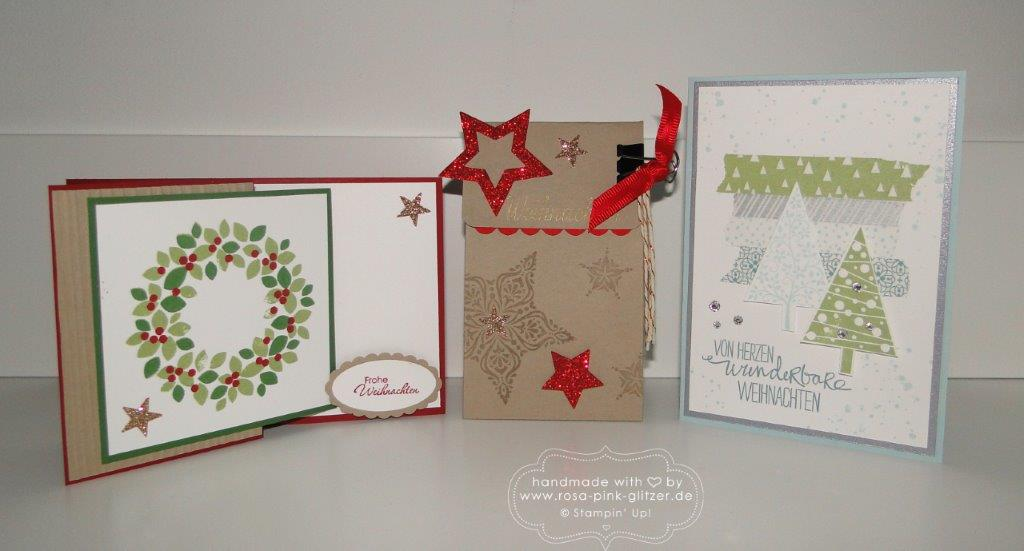 Stampin up Landshut - Weihnachtsworkshop November 2014 8