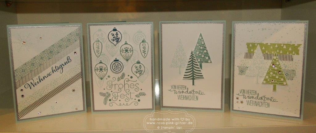 Stampin up landshut - Weihnachtsworkshop November 2014 9