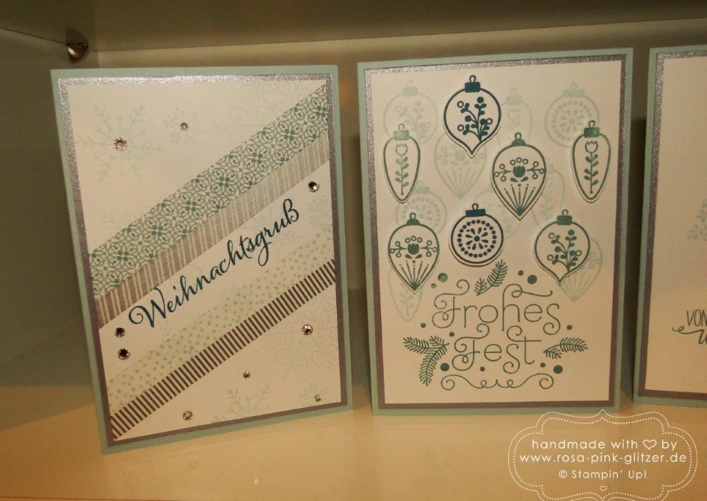 Stampin up Landshut - Weihnachtsworkshop November 9