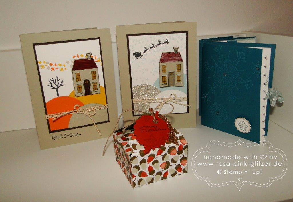 Stampin up Landshut - Workshop Oktober 2014 1