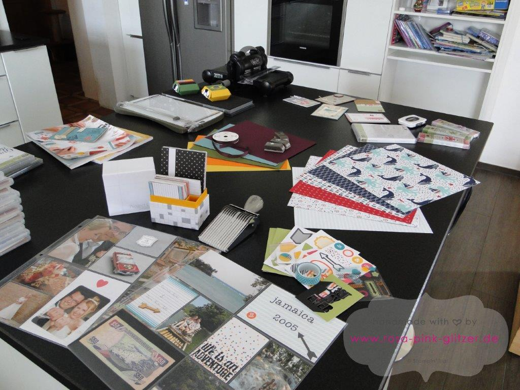 Stampin up Landshut - Workshop Stempelparty Start neuer Katalog 3 - Kopie
