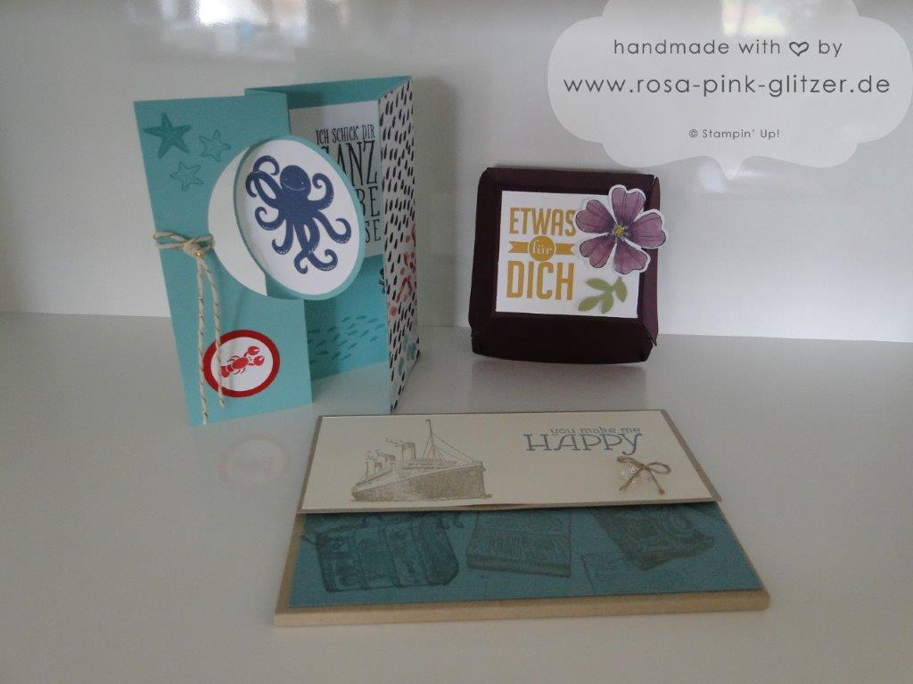 Stampin up Landshut - Workshop Stempelparty Start neuer Katalog 7 - Kopie