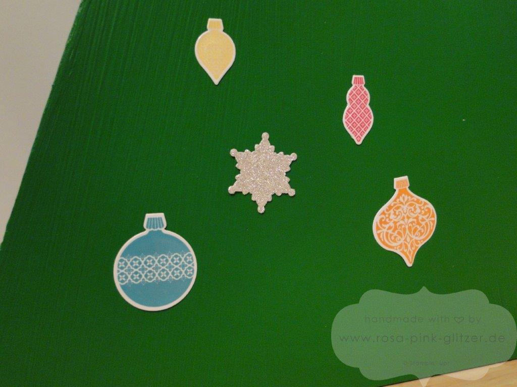 Stampin Up Landshut - Adventskalender 2013 - Ornament Keepsakes