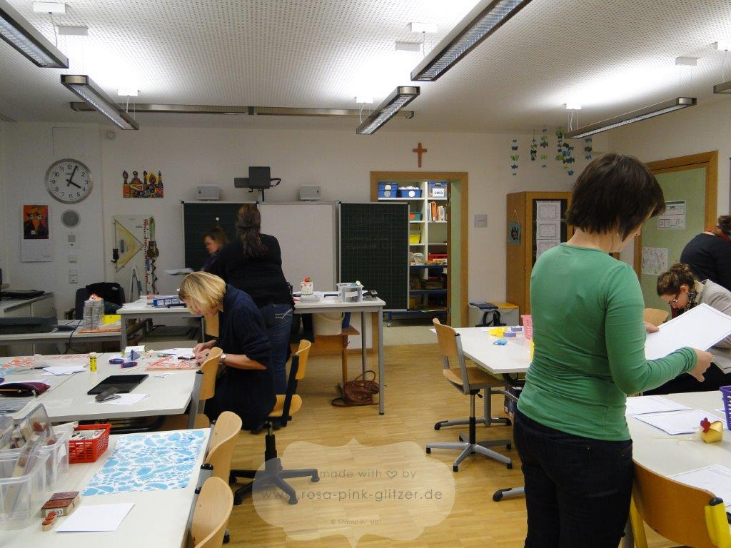 stampin up Landshut - Embossing Workshop 7