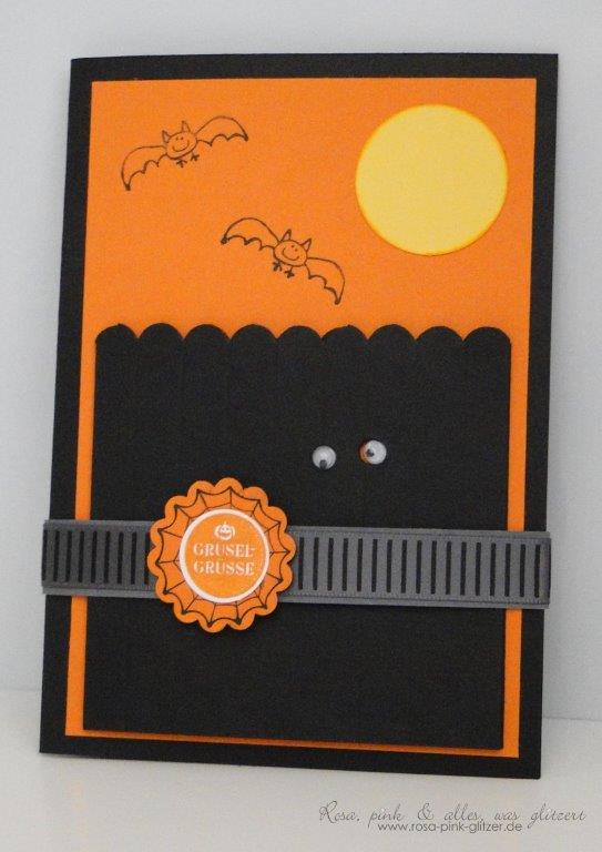 Stampin up Landshut - Frightening Feline - Halloween 1